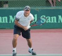 Mark Gatt reaches another two finals on Senior Tennis Tour