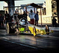 Matthew Carabott impresses in Top Alcohol Dragster Class