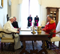 Pope has every right to investigate Knights of Malta
