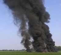 Sixteen dead as Marines Corps plane crashes in Mississippi