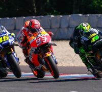 Stunning Marquez races to record Brno pole