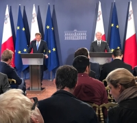 [WATCH] Tusk and Muscat lay out draft guidelines for Brexit talks