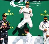 Rosberg wins Belgian GP as Lewis Hamilton roars to third