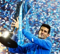 Djokovic beats Federer to win fourth straight World Tour Finals