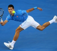 Australian Open - Novak Djokovic crushes Milos Raonic to reach last four