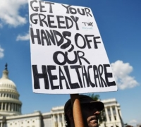 US Senate healthcare bill would cut insurance for 22 million Americans, CBO says