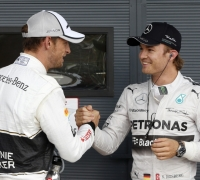 Rosberg claims pole for British GP, Vettel second