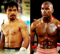 Manny Pacquiao and Floyd Mayweather in negotiations for £180m fight in 2015