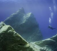 Stunning image of submerged Azure Window gives Dwejra top billing for scuba diving