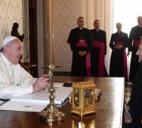 President invites Pope Francis to visit Malta during EU presidency