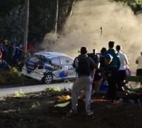 Rally car crash kills six spectators, injures many more