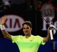 Australian Open - Roger Federer waltzes into second round in Australia