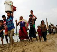 Myanmar conflict: nearly 125,000 refugees flood into Bangladesh