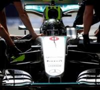 Rosberg on Baku pole as Hamilton crashes out