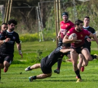 Stompers play 15-man rugby to win Cisk League match