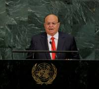 Yemen's President sees only a military solution to crisis