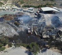 [WATCH] Sant'Antnin plant fire: drone footage reveals extent of damage