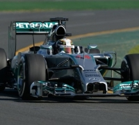 Hamilton leads Mercedes one-two in Melbourne in second free practice