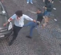 [WATCH] Bouncers to be arraigned after footage of attack on Paceville patrons emerges