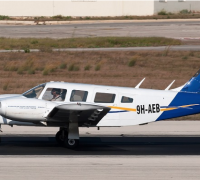 Small twin prop plane crashes during landing at MIA