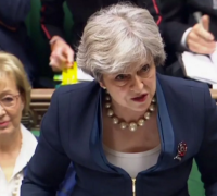 May seeks meeting with party leaders about sexual misconduct claims