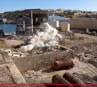 [WATCH] Marsa power station chimneys come crashing down