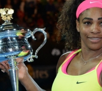 Australian Open - Serena Williams outmuscles Maria Sharapova to claim 19th grand slam