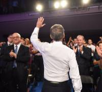 [WATCH] Farewell to Simon: PN toasts leader as he rails against 'populist Labour'