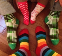Spreading awareness with socks: World celebrates Down Syndrome Day