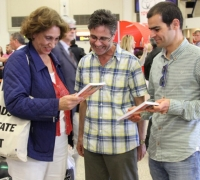 Palestinian author arrives to Malta for launch
