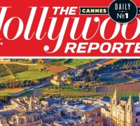 Hollywood Reporter's front cover features Malta