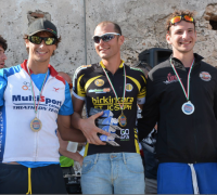 Triathletes Graham Borg and Hannah Pace shine in Marzamemi