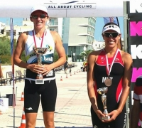 Galea and Vella Wood crowned National Sprint Triathlon Champions