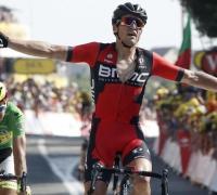 Greg van Avermaet denies Peter Sagan for stage 13 in Rodez