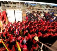 'It's devastating for the team': Save the Children migrant rescue boat stuck in Malta