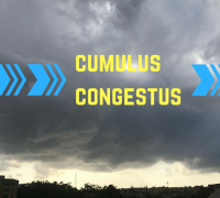 Large cloud formations over north of Malta bring promise of stray showers