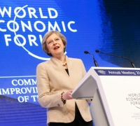 Theresa May vows UK will not withdraw from global trade, hails UK as 'foreign investment hub'