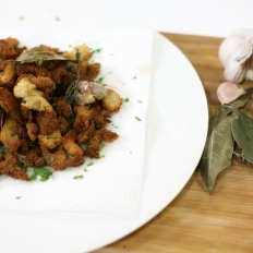 [WATCH] Herby croutons