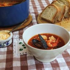 Pippa's seafood chowder