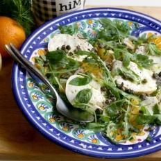 [WATCH] Orange and bufala salad