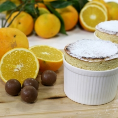 [WATCH] Orange chocolate soufflés