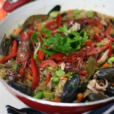 A Maltese take on Spanish paella