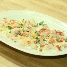 [WATCH] Sea bass and scallop ceviche