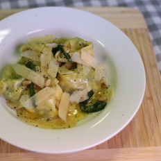 [WATCH] Tortellacci with spinach and ricotta