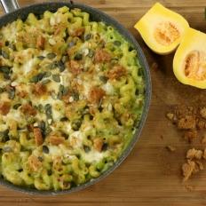 [WATCH] Mozzarella di bufala and zucchini pasta bake