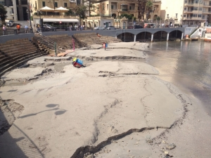Balluta Bay closed after storm disrupts sandy beach