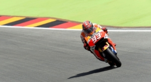 Márquez storms to Sachsenring pole