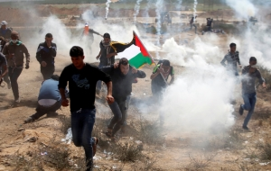 For Gaza's peaceful protesters, power is all about perception | Leonie Fleischmann