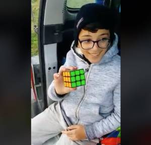 [WATCH] Ever tried solving the Rubik's Cube? This young Gozitan does it in 29 seconds