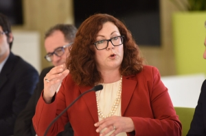 Marlene Farrugia strikes out against motor racetrack: 'Build it in Sicily, not Malta'